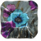 """Wild Flowers Plate - 6"""" Square"""