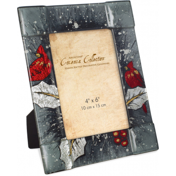 "Christmas Cardinal 9"" Photo Frame"