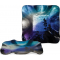 """Northern Lights 10"""" Square Ripple Plate"""