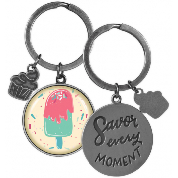 Key Chain - Savor Every Moment