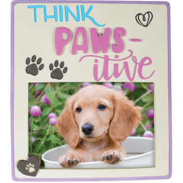 Pawsitive Photo Frame - Think Pawsitive