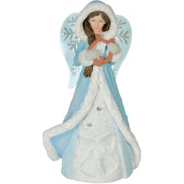 Winter Wonder-Full Angel Figurine - Peace