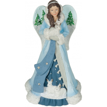 Winter Wonder-Full Angel Figurine - Abundance