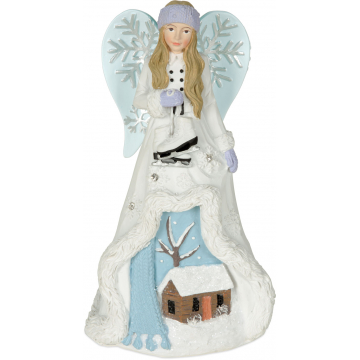 Winter Wonder-Full Angel Figurine - Grace