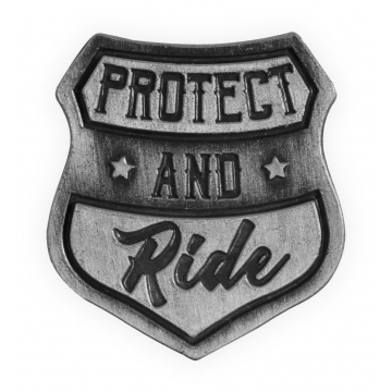Guardian Eagle Lapel Pin - Protect and Ride