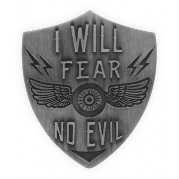 Guardian Eagle Faith Visor Clip - Fear No Evil