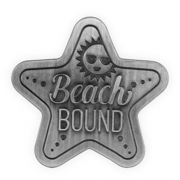 Coastal Visor Clip - Beach Bound