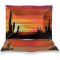 "Desert Sunrise 10"" Rectangle Plate"
