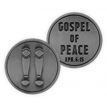 Armor of The Lord Token - Gospel of Peace