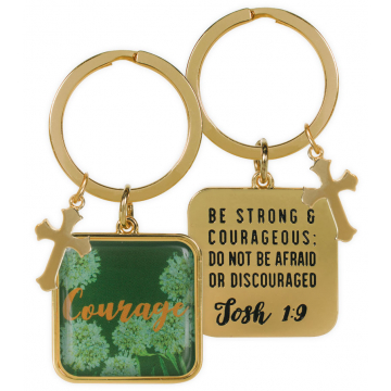 Golden Wisdom Key Chain - Courage