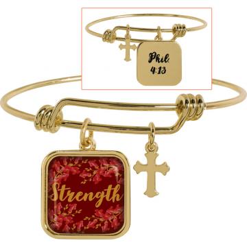 Golden Wisdom Bracelet - Strength