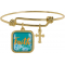 Golden Wisdom Bracelet - Faith
