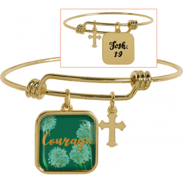 Golden Wisdom Bracelet - Courage