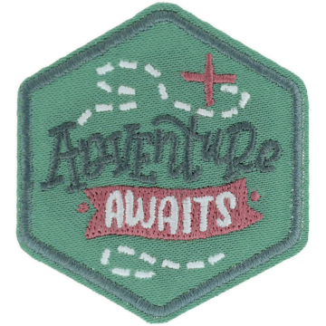 Expedition: AngelStar Iron-On Patch - Adventure Awaits