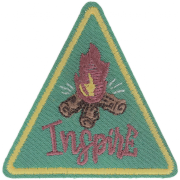 Expedition: AngelStar Iron-On Patch - Inspire