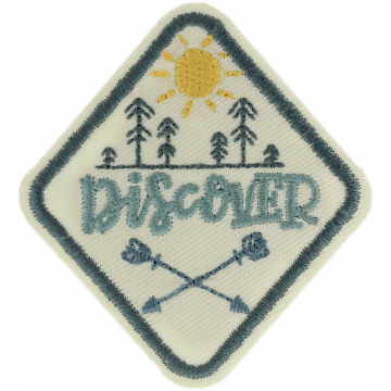 Expedition: AngelStar Iron-On Patch - Discover