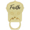 Golden Inspirations Phone Ring - Faith