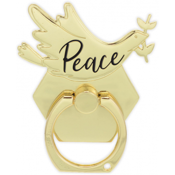 Golden Inspirations Phone Ring - Peace