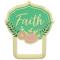 Golden Inspirations Eyeglass Pin - Faith