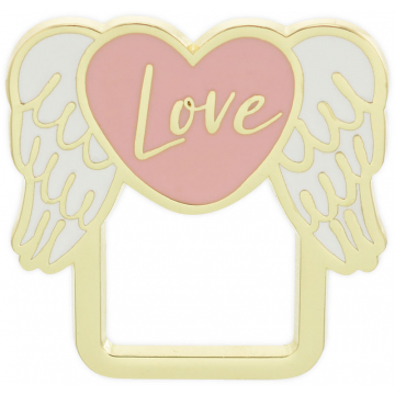 Golden Inspirations Eyeglass Pin - Love