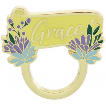 Golden Inspirations Eyeglass Pin - Grace