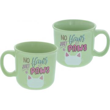 Pawsitive Inspiration Mug - No Flaws Just Paws