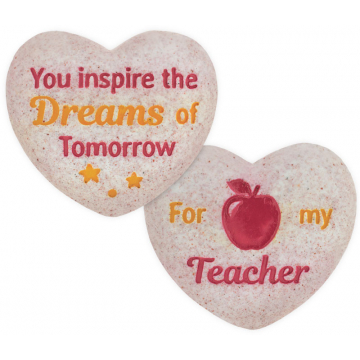 Heart of AngelStar Pocket Stone - Teacher