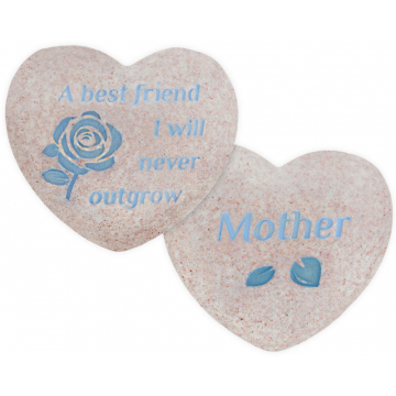 Heart of AngelStar Pocket Stone - Mother