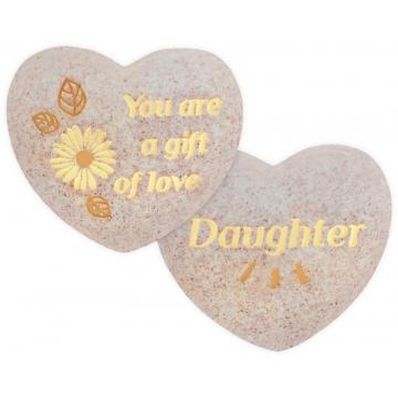 Heart of AngelStar Pocket Stone - Daughter