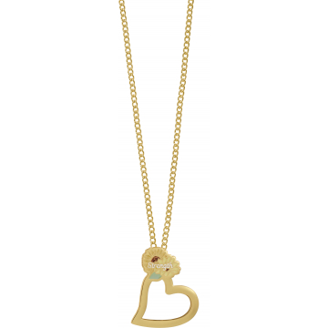 Heart of AngelStar Eyeglass Holder Pendant - Strength